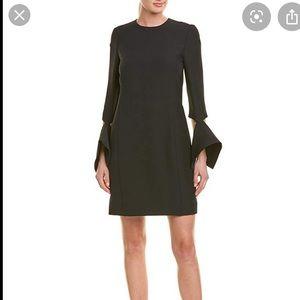 Oscar de la Renta Wool & Silk-Blend Shift Dress